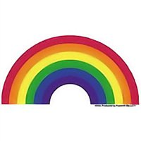 Gay Pride Rainbow Arch Sticker