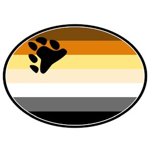 Bear Pride Auto Magnet