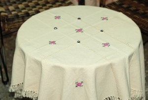 Turkish Handmade Elegant and Unique Tablecloth