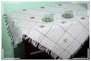 Turkish Handmade Elegant and Unique Tablecloth 10