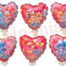 lot of 32 I love U Series auto inflatable balloons.