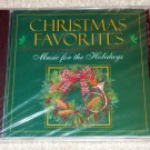 Christmas Favorites Music For The Holidays CD NEW SEALED Andy Williams, Vikki Carr