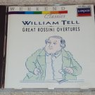 Rossini Overtures William Tell Weekend Classics CD