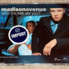 Madison Avenue - Who The Hell Are You? UK 3trk CD SINGLE