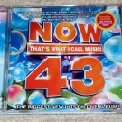 Now That's What I Call Music! 43 CD Maroon 5, Justin Bieber, One Direction