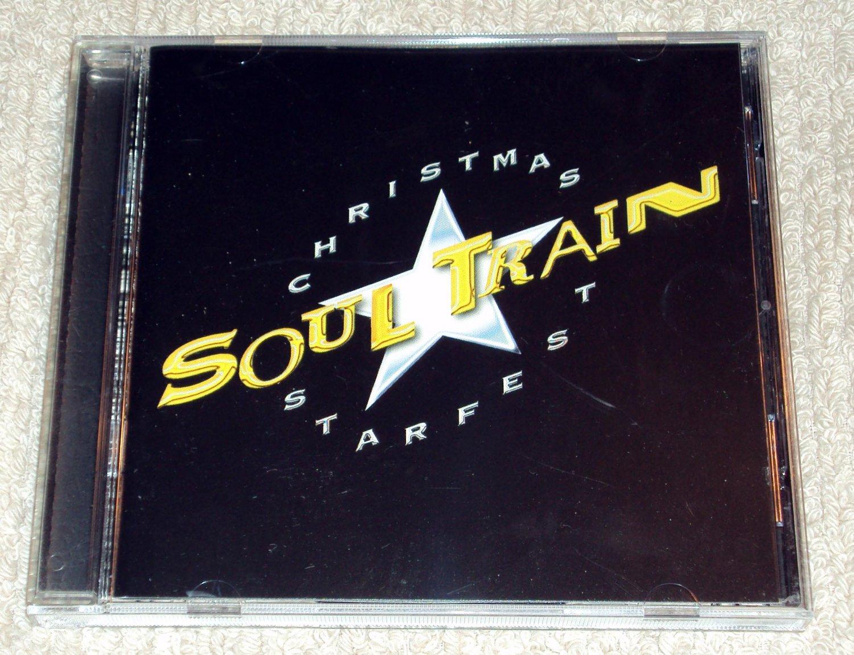 The Soul Train Christmas Starfest Album CD Stevie Wonder, Luther ...