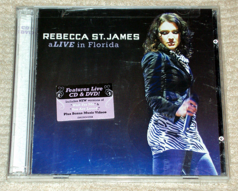 Rebecca St. James � aLIVE in Florida CD & DVD SET NEW SEALED
