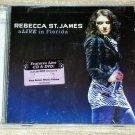 Rebecca St. James – aLIVE in Florida CD & DVD SET NEW SEALED