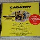 Cabaret Original Broadway Cast Recording CD (25 Trks) Kander & Ebb Demos