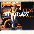 Tim McGraw – All I Want (CD)