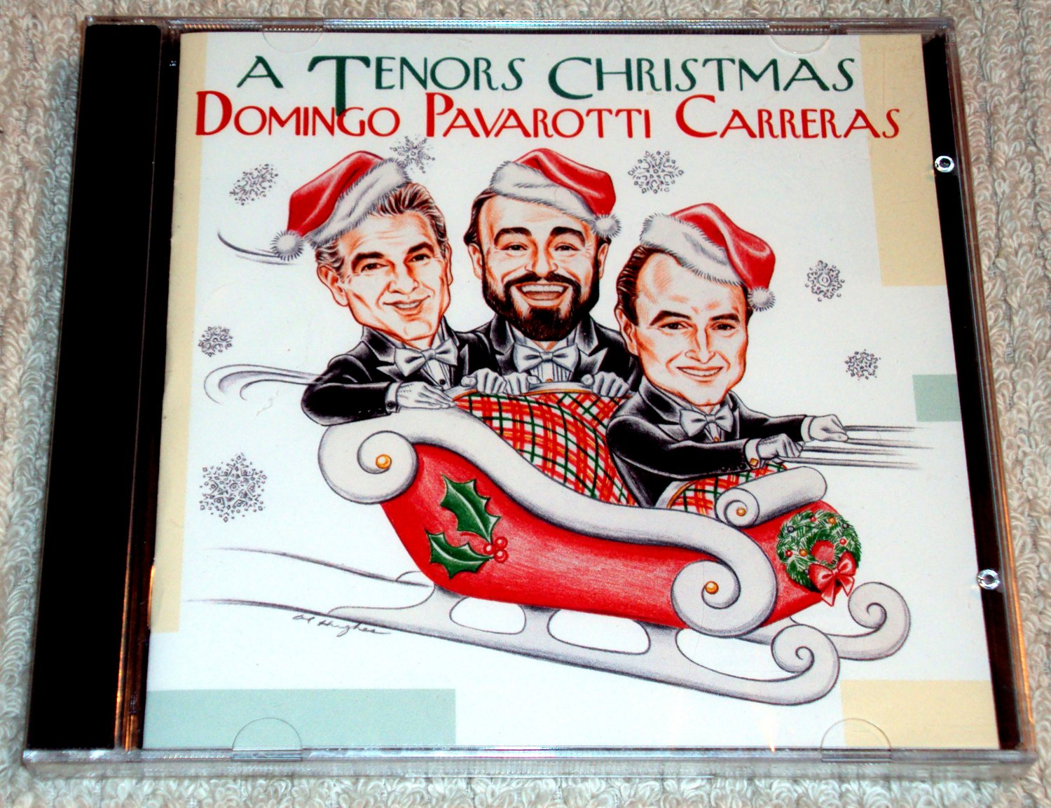 A Tenors Christmas: Domingo, Pavarotti, Carreras (CD) NEW SEALED Dionne Warwick