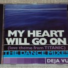 Deja Vu - My Heart Will Go On(Love Theme From Titanic)(4 versions) US CD SINGLE RARE
