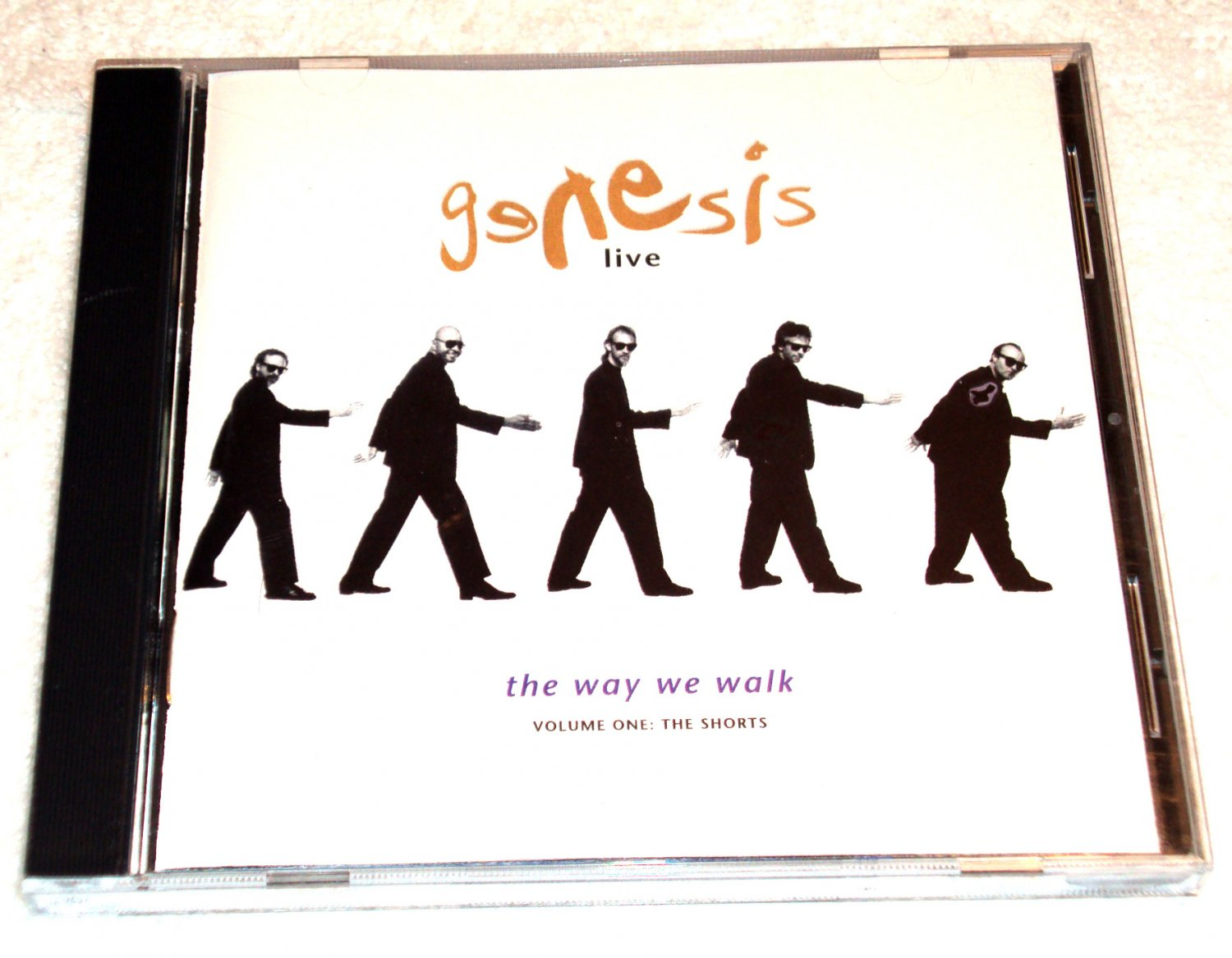 Genesis � Live: The Way We Walk, Volume 1 The Shorts (CD, 11 Tracks)