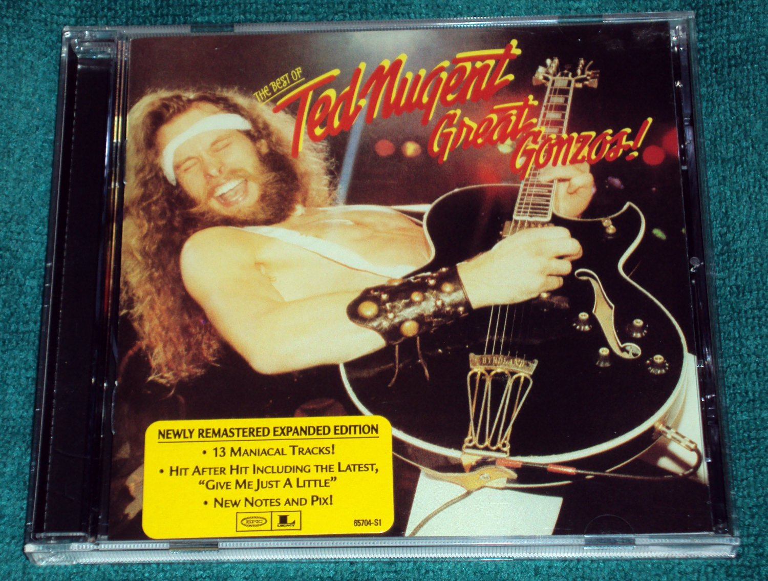 Ted Nugent � Great Gonzos! (CD, The Expanded Edition, Digitally Remastered)