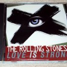 Rolling Stones – Love Is Strong (2 Versions including Bob Clearmountain remix) US PROMO CD SINGLE