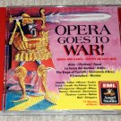 Opera Goes To War! Marches and Ballet Music CD Verdi, Bellini, Gounod, Rossini
