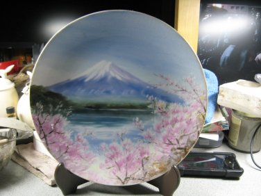 Hand Painted Plate - ISI Maker (Circa 1960)