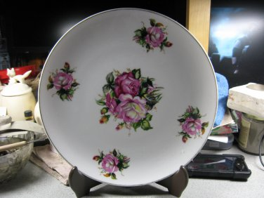Flower Plate - Japan (Circa 1915)