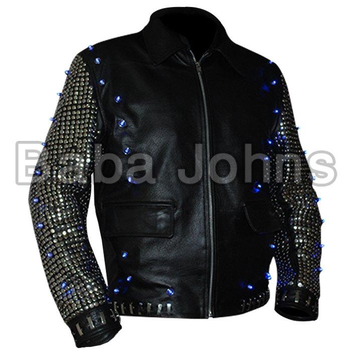 "Christopher Keith ""Chris"" Irvine Chris Jericho Wrestler Style Leather Jacket wwe"