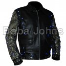 "Christopher Keith ""Chris"" Irvine Chris Jericho Wrestler Style Leather Jacket wwe"