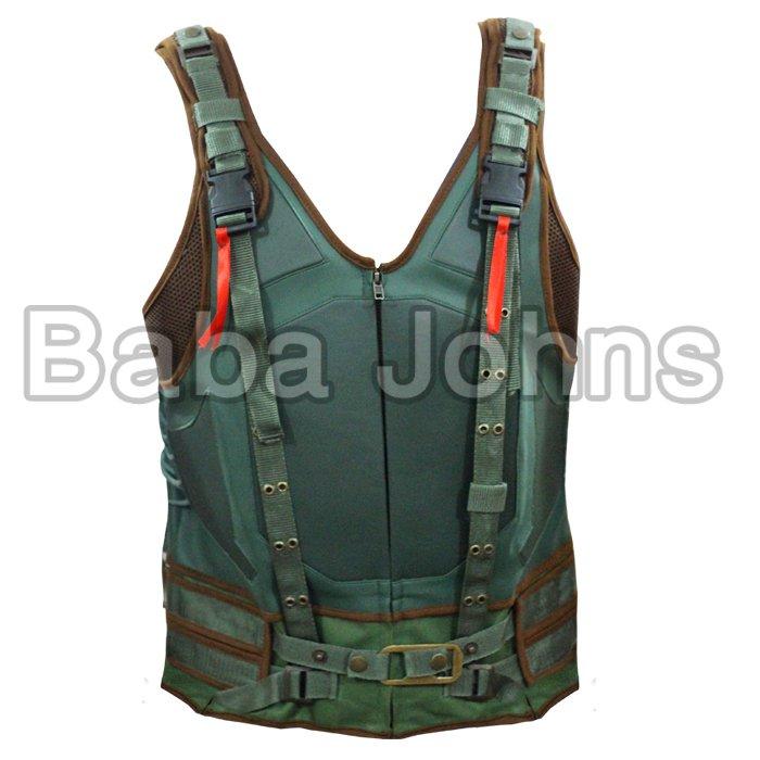 Bane Combat Dark Knight Rises Cosplay  Military Bane Vest