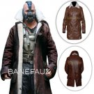 Bane Coat The Dark Knight Rises Cosplay Costume Swedish bomber Faux Leather Jacket
