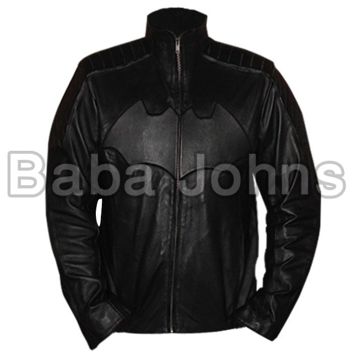 Batman begins motorbike leather jacket. Money back Guaranteed