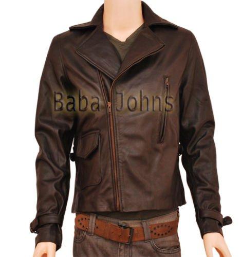 Captain America's Chris Brown Evans First Avenger Genuine Men's Leather Jacket
