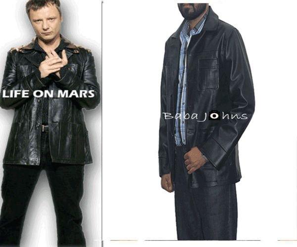 Life on Mars Classic Sam Tyler Vintage Genuine / Faux / PU Leather Coat