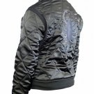 Slim Fit Drive Gosling Biker Style Trucker Jacket w/ Finely Embroidered Scorpion
