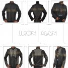 Ironman Tony Stark Retro Slim Fit Style Fashionable Men's Leather Jackets