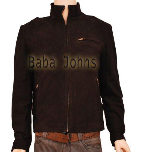 Mission: Impossible 3 Ethan Hunt Fine Vintage Men's Suede Leather Jacket
