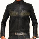 Men's Ghosts of Girlfriends Past Conner Mead Vintage Slim Fit Leather Jacket