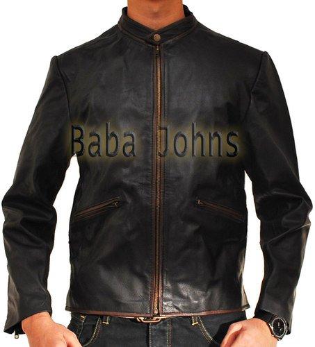 Tron Legacy Sam Flynn Vintage Men's Real Leather Jacket