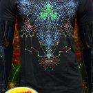 Nanostructure - rave psychedelic t-shirt fractals psy trance mandala lsd goa