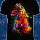 Tiger energy - T-shirt for the club music young people bright wear colorful wild animal