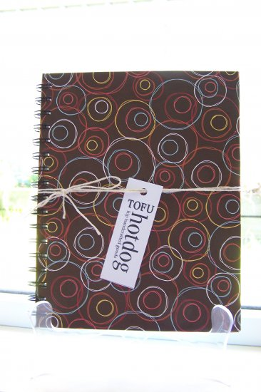 Brown Circle Notebook