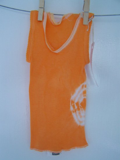 Nasturtium (Orange) Baby Singlet