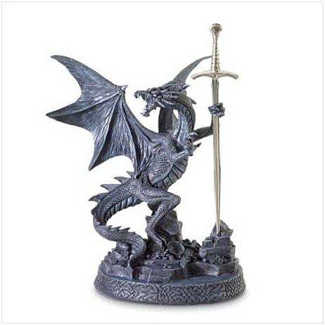 3713100: Dragon Letter Opener Statue