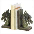 3797800: Fierce Dragon Bookends 2 pc Set
