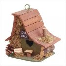 "2963400: WOOD ""LOVE SHACK"" BIRDHOUSE"
