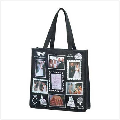 3673600: Wedding Photo Tote Bag-Show Those Fabulous Photos Anytime Anywhere