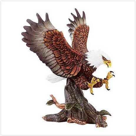3180900: PORCELAIN EAGLE LANDING
