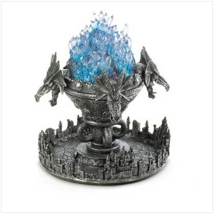 3631700: Dragon and Castle Medieval Atomizer LED Crystals