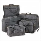 2194300: SALE: Jute Tweed Dark Gray 5-PC Luggage Set - Travel Set