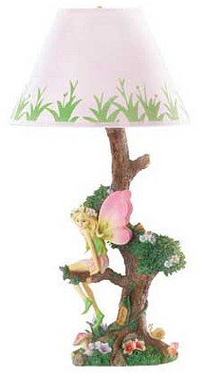 3671800: Adorable Fairy Sitting On Tree Table Lamp oos?