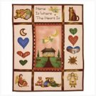 3566500: Country Comfort Fleece Blanket Throw - Home Decor