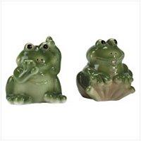 Frogs Salt/Pepper Shaker Set