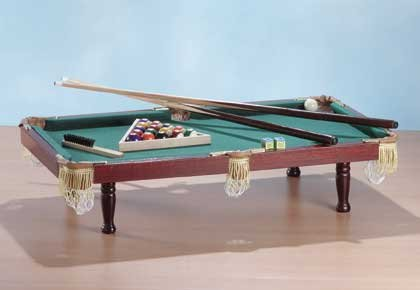 "2116300: 36"" Deluxe Billiards Pool Table with Accessories"