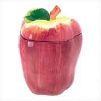 3821100 Decorative Apple Cookie Jar